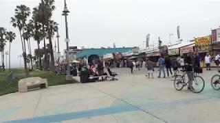 アメリカ・ロサンゼルスのヴェニスビーチ Venice Beach