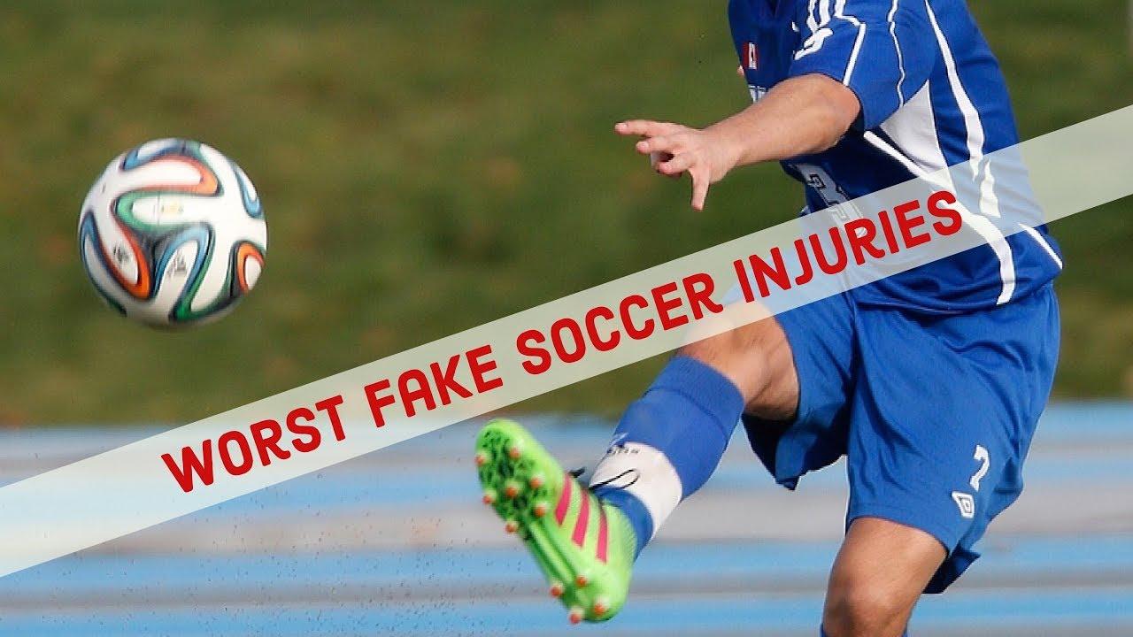 Top Worst Fake Soccer Injuries