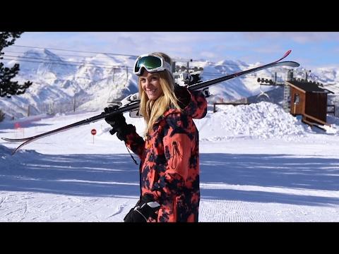 Claudia Ski Trip For O'Neill In Andorra!