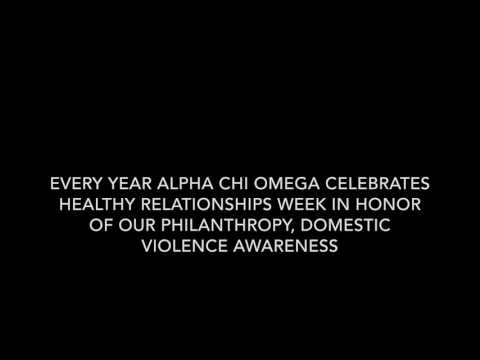 UMass Alpha Chi Omega Healthy Relationships Week