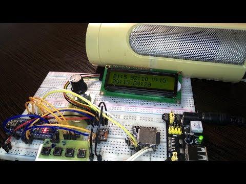 Кастомизированный гудок для автомобиля на Arduino и DFPlayer. Версия 1