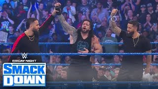 Usos return to save Reigns from more dog food, Bryan attacked by The Fiend | FRIDAY NIGHT SMACKDOWN