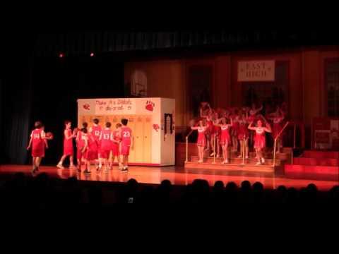 OHMS High School Musical JR April 2nd Evening