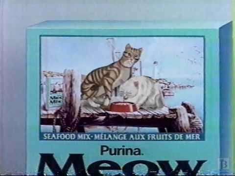 Purina Cat Chow, Tender Vittles Commercial 1992