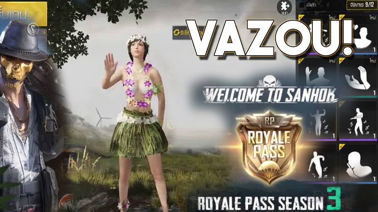 Recompensas Do Royale Pass Season 3 Pubg Mobile Lightspeed