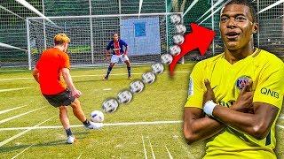 KYLIAN MBAPPÉ FUßBALL CHALLENGE!