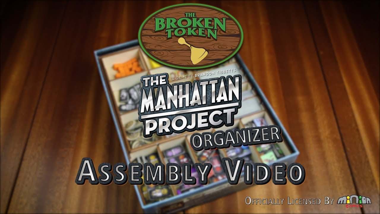 The Manhattan Project Organizer