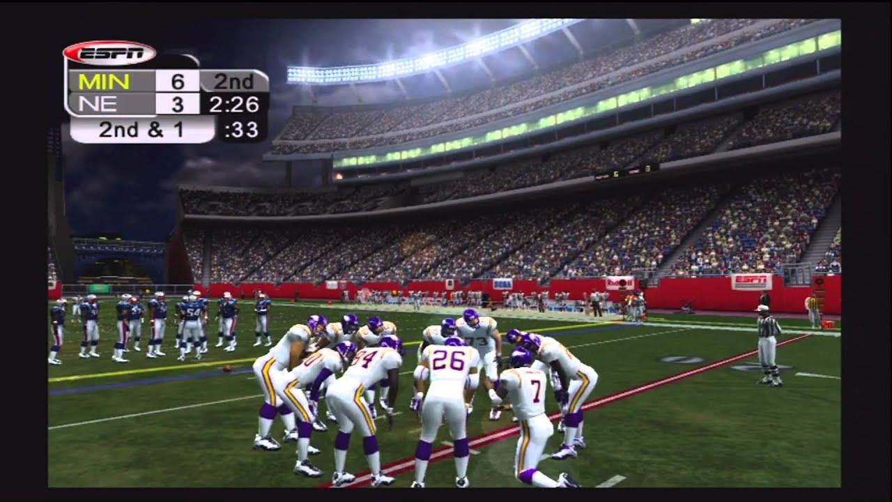 1998 Minnesota Vikings VS 2007 New England Patriots Part 2 Of 4
