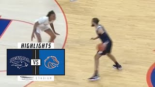 No. 10 Nevada vs. Boise State Basketball Highlights (2018-19) | Stadium