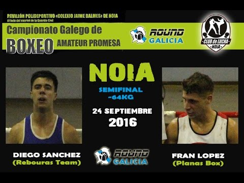 NOIA PROMESAS 09/16 Francisco Lopez (Planas Box) -vs- Diego Sánchez (Rebouras Team)