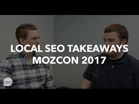 5 Local SEO Takeaways From MozCon 2017 | Speak Creative