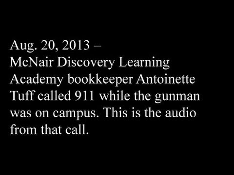 Antoinette Tuff's 911 call at McNair Discovery Learning Academy in Decatur