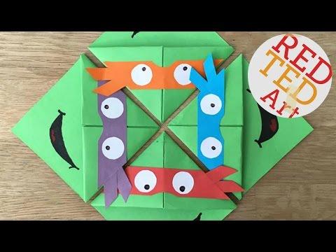 Easy TMNT Bookmark Corners DIY (BONUS VIDEO)