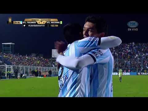 GOL: Atl. Tucumán 2-0 Atl. Nacional
