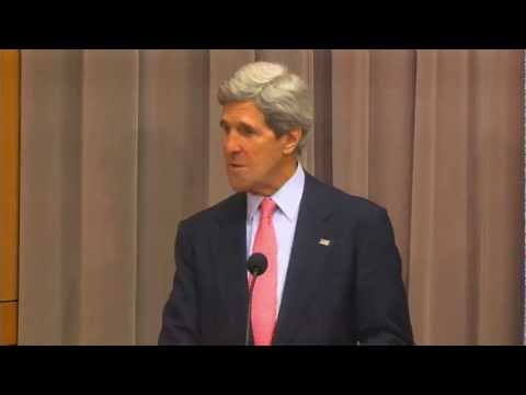 Secretary Kerry Delivers Remarks at the Fulbright Foreign Student Enrichment Seminar