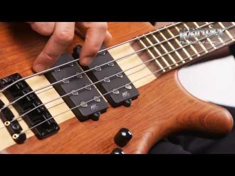 The Warwick Corvette $$ NT Bubinga - Product Demo with Andy Irvine