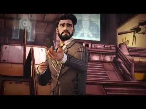 Tales From The Borderlands Episode 4: - Vaughn Calls Rhys & Badass Accountant Finger Bang Fight
