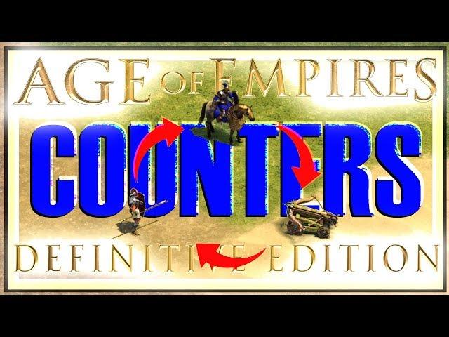 Unit Counters - AoE DE Beginner Guide