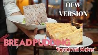 HOW TO MAKE BRËAD PUDDING IN JUST 3 MINUTES | OFW PILIPINO STYLE