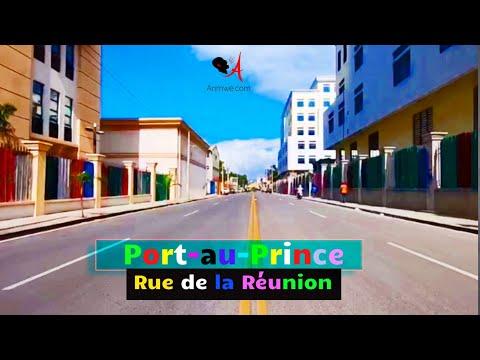 Port-au-Prince, Haiti: Rue de la Réunion│Mezanmi me eta pèp la fè bèl ti zòn Jovenel Moise fenk fè a