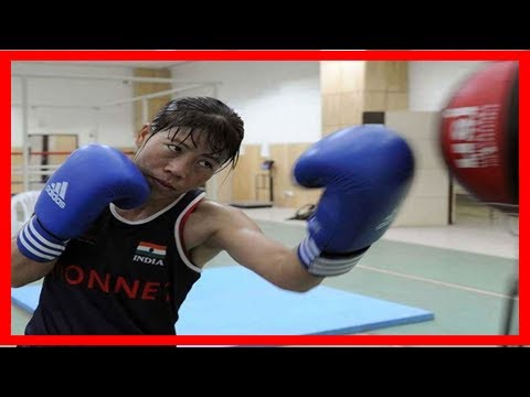 Breaking News   Indian rajya sabah mp mary kom in semis in asian boxing championship