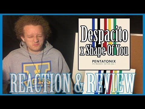 Despacito x Shape Of You - Pentatonix (Audio) | REACTION + REVIEW