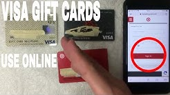 ✅  How To Use Visa Gift Cards Online 🔴