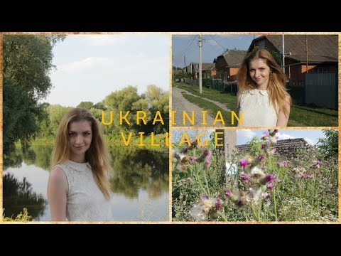 WALKING IN UKRAINIAN VILLAGE. VLOG