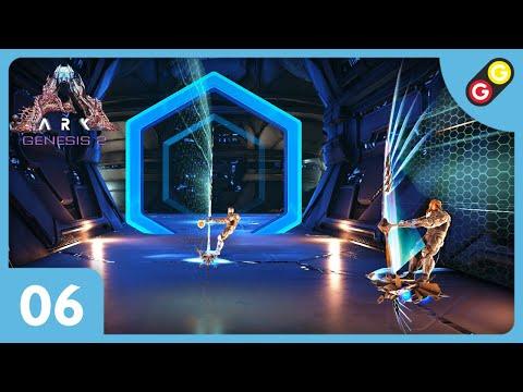 ARK : Survival Evolved - Genesis 2 #06 On fait une course de planche à voile ! [FR]