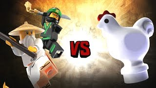 The LEGO Ninjago Movie Video Game - Master Wu and Green Ninja vs The Master Chicken