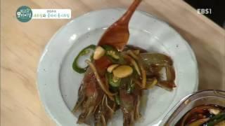 최고의 요리 비결 - 전진주의 새우장과 콜라비 홍시무침_#002