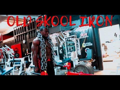 Demetrius Crawford - Old Skool Iron Workout preview   Dir @Cellyybo