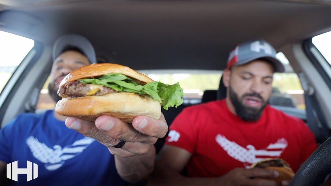 "Eating Steak 'n Shake ""Steak Prime Burger"""