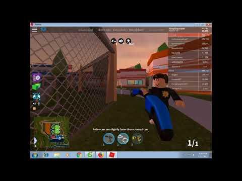 ROBLOX Jailbreak-dang o tu thi chuyen nghe lam canh sat-Vip Gaming