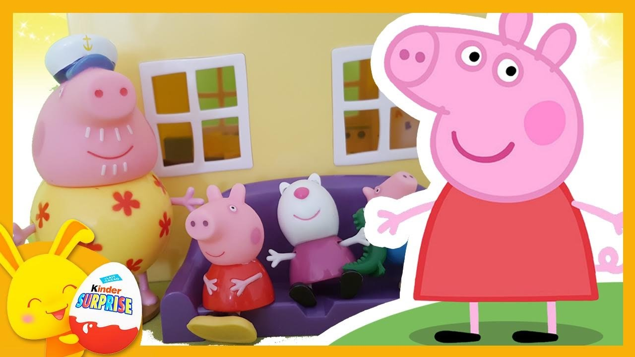 la maison de peppa pig histoire jouets enfant avec. Black Bedroom Furniture Sets. Home Design Ideas