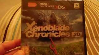 Xenoblade Chronicles 3D Unboxing (By Korrupio)
