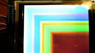 TFT LCD Scroll