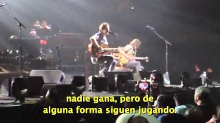 Pearl Jam - Future Days - Subtitulado en español