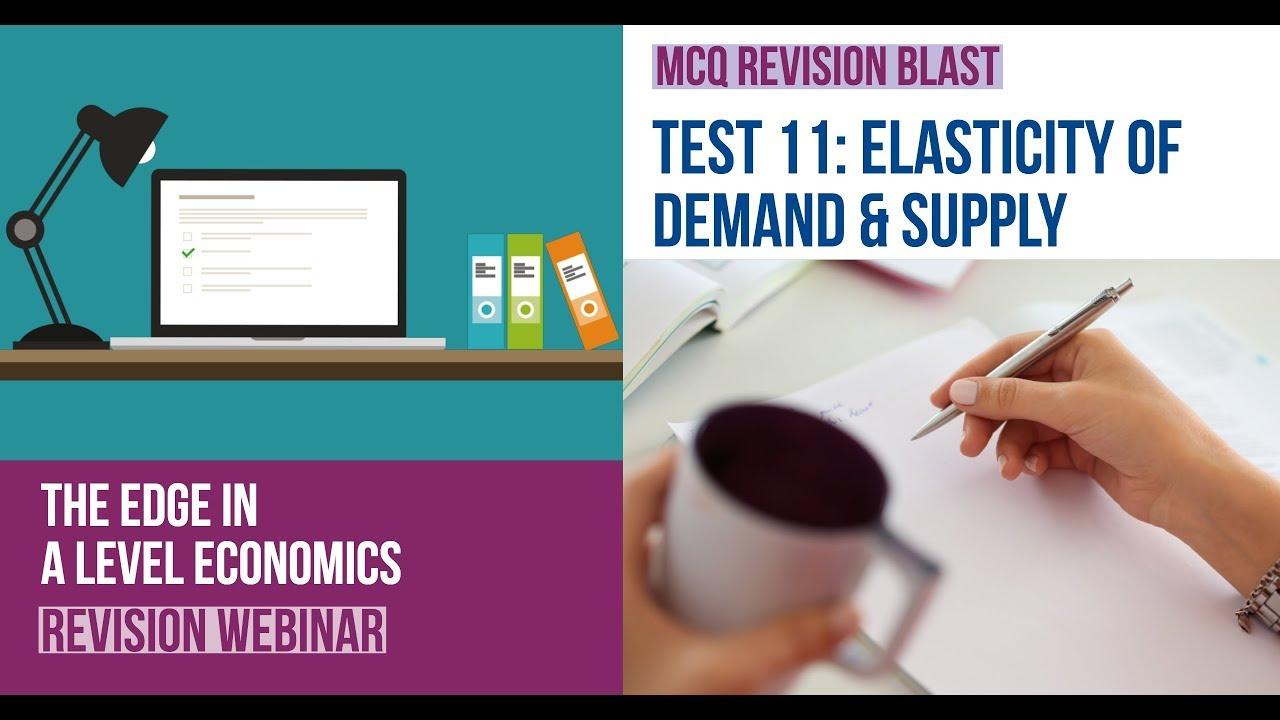 Test 11: A Level Economics: MCQ Revision on… | Economics | tutor2u