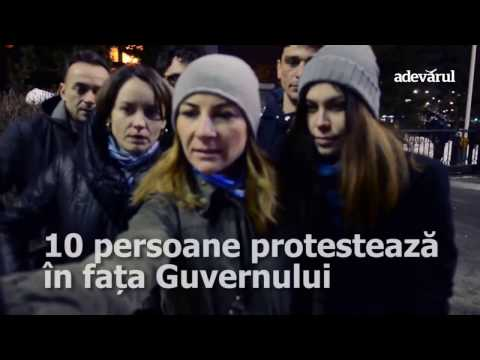 Protest Guvern OUG 13