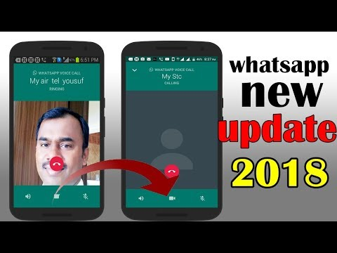 whatsapp new update 2018 | VOICE CALL  VIDEO CALL QUICK SWITCH | captain gpm