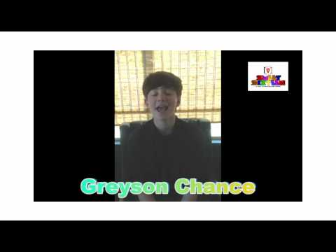 Greyson Chance HBD to Channel V Thailand