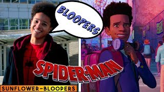 Download Sunflower BLOOPERS - Spiderman: Into the Spider Verse - in real life Mp3