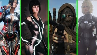 Top 5 Best Female Armor Mods - Fallout 4 MODS - Mods of Week - Amazonian Courser Prudy Luxury Tron