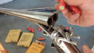 Fusil de chasse type Lefaucheux