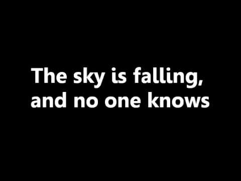Sky Is Falling - Lifehouse Lyrics
