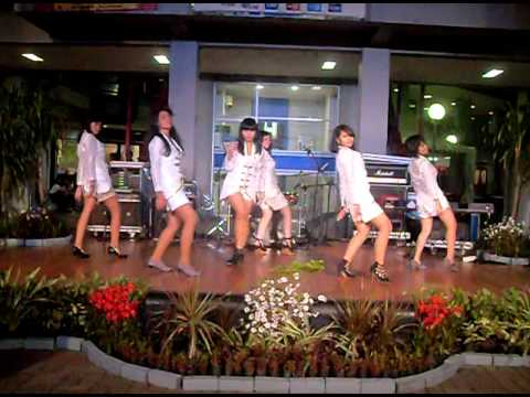 Lady's School (cover dance of After School) - Bang! @ PRJ Jakarta Fair 110610