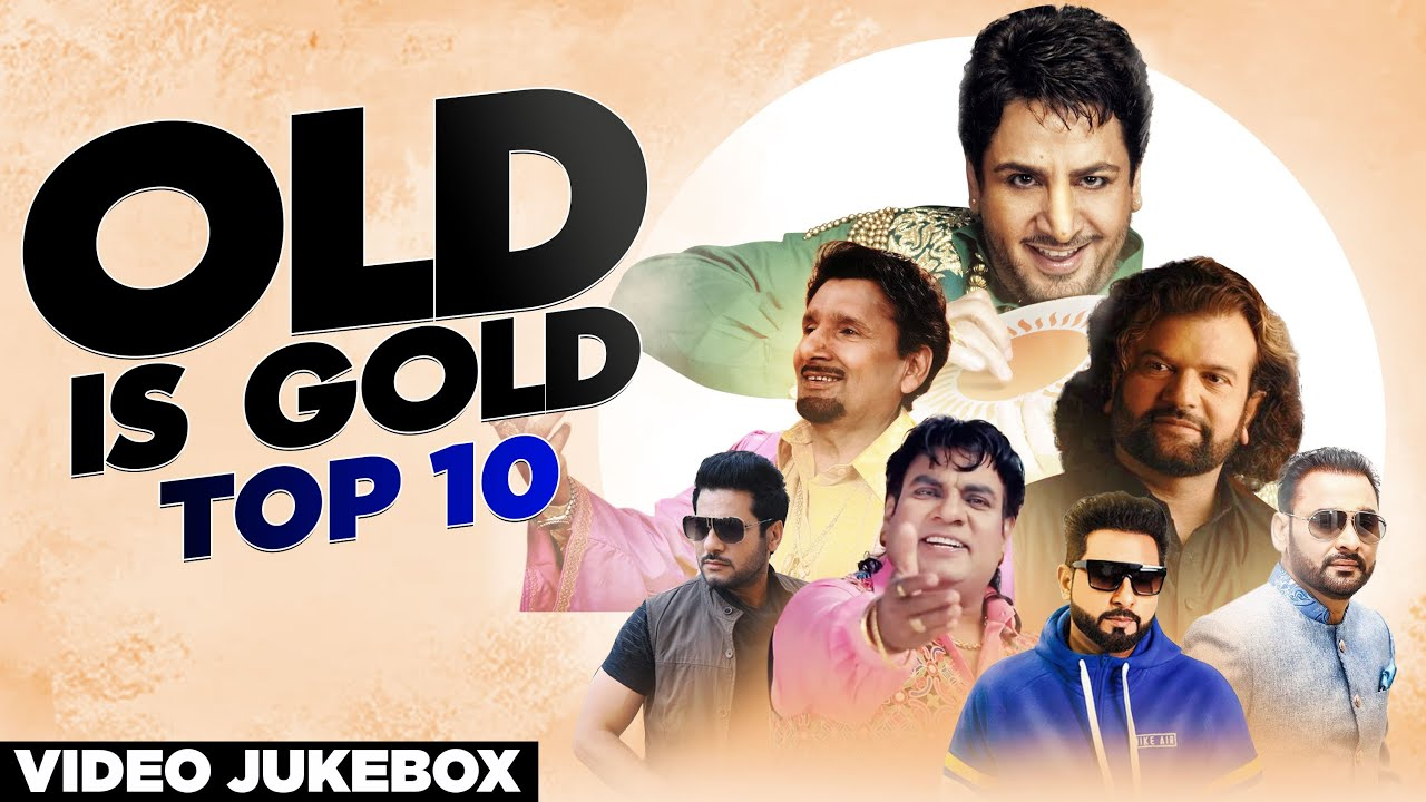 Old Is Gold Top 10| VideoJukebox| Hit Punjabi Songs2020 | Speed Records