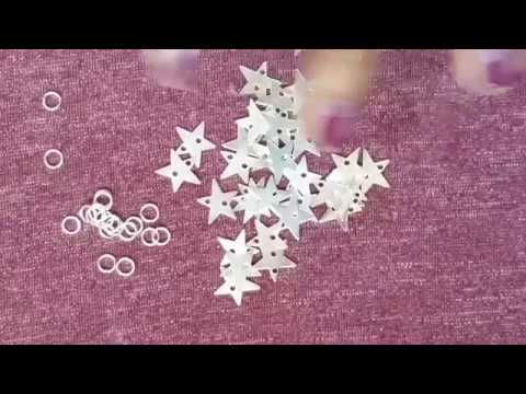 How to make fancy earrings at home    earrings making at home diy