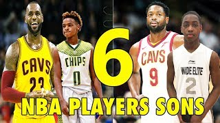 Download 6 NBA Players SONS who will be BETTER than their FATHERS! Mp3 and Videos